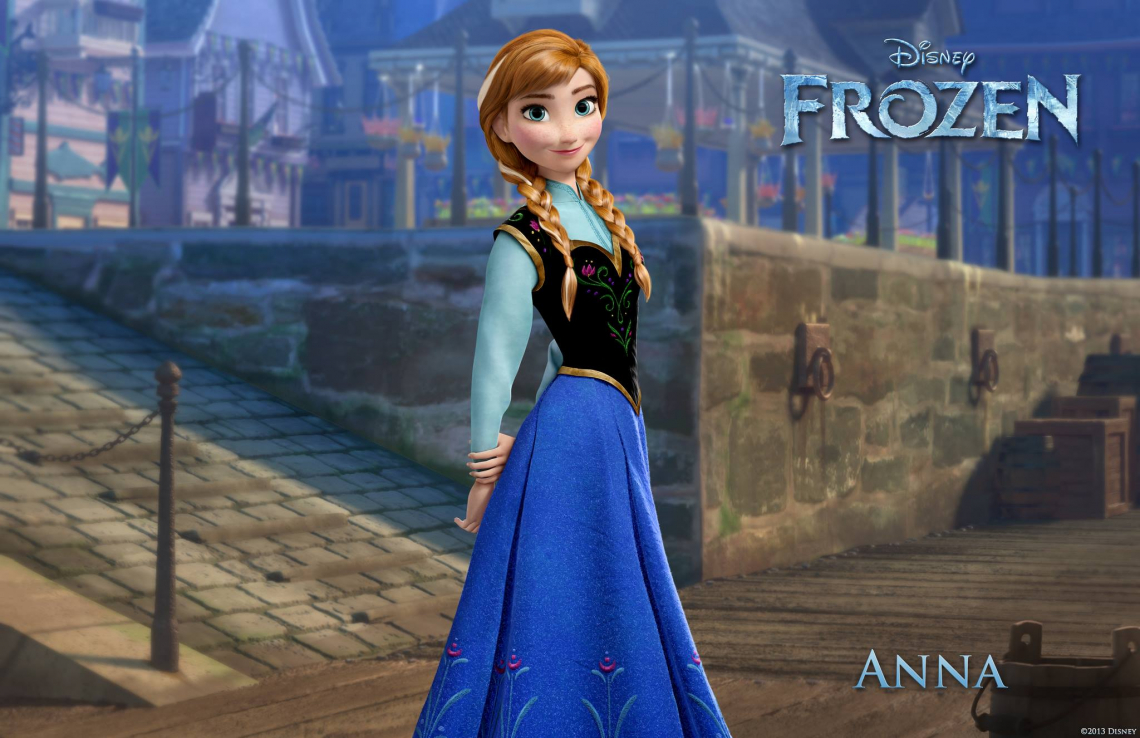 Princes Anna Frozen